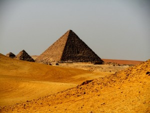To the pyramids and beyond but only if you're healthy to make the journey!