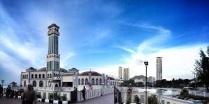 Tanjung Bungah Floating Mosque, Penang, Malaysia